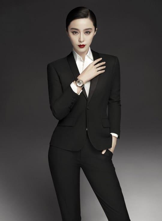 판빙빙, 몽블랑 브랜드 홍보모델 사진© 갓잇코리아