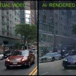 AI 렌더링 영상 (엔비디아 제공) ⓒ 갓잇코리아