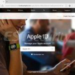 애플 사이트로 위장한 피싱 페이지 (이스트시큐리티 제공) ⓒ 갓잇코리아