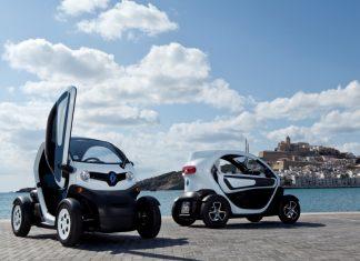 르노삼성자동차의 초소형전기차 트위지 © 갓잇코리아