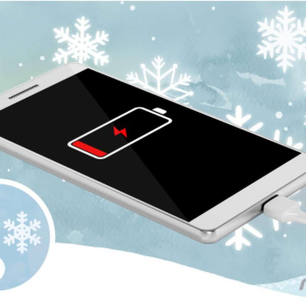 [생활속과학] 스마트폰도 추위타나...겨울에는 뚝뚝 떨어지는 배터리