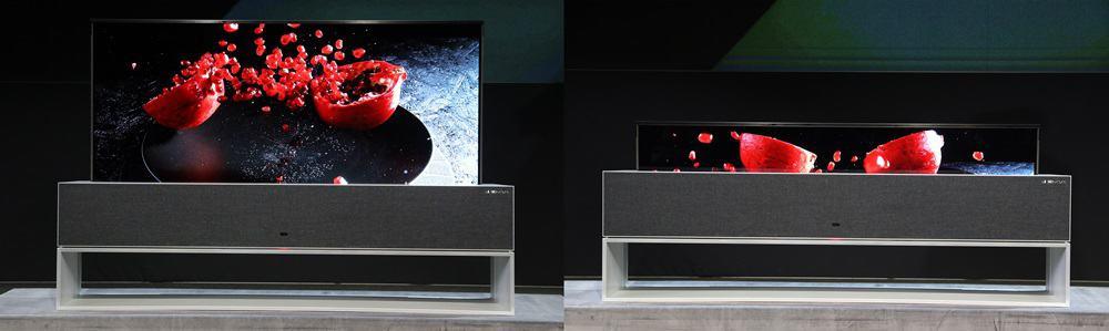 LG전자의 롤러블 TV ⓒ 갓잇고리아