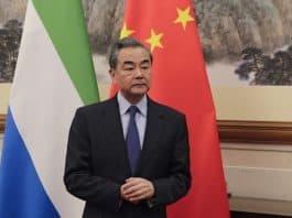 왕이 중국 외교 담당 국무위원 겸 외교부장.(사진=AFP)