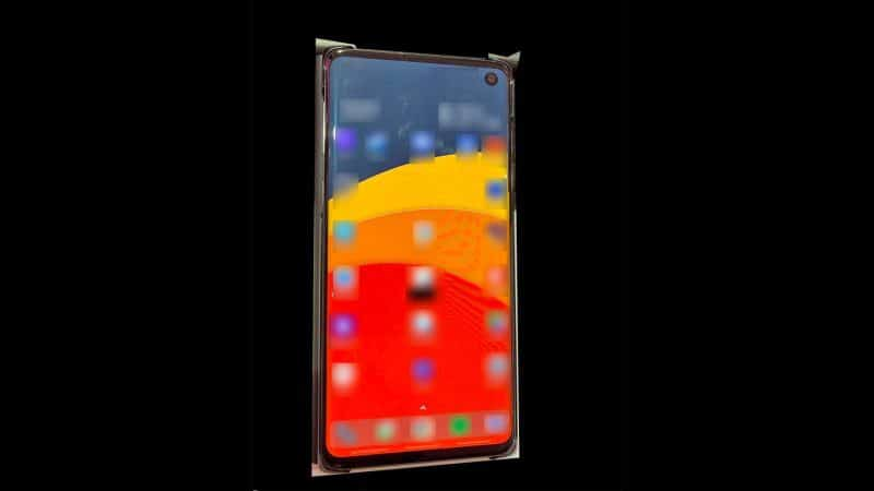 '갤럭시S10' 디자인 유출...예상대로 인피니티O 디스플레이