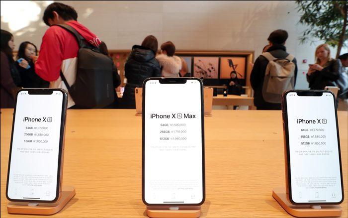 애플 신제품 아이폰 Xs·Xs 맥스·아이폰 XR ⓒ 갓잇코리아