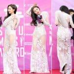 하이원 서울가요대상' 레드카펫 행사에 참석해 포즈를 취하고 있다 ⓒ 갓잇코리아