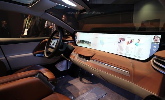 이게 진짜 미래 자동차의 내부다! 바이톤 전기SUV M-BYTE ⓒ 갓잇코리아