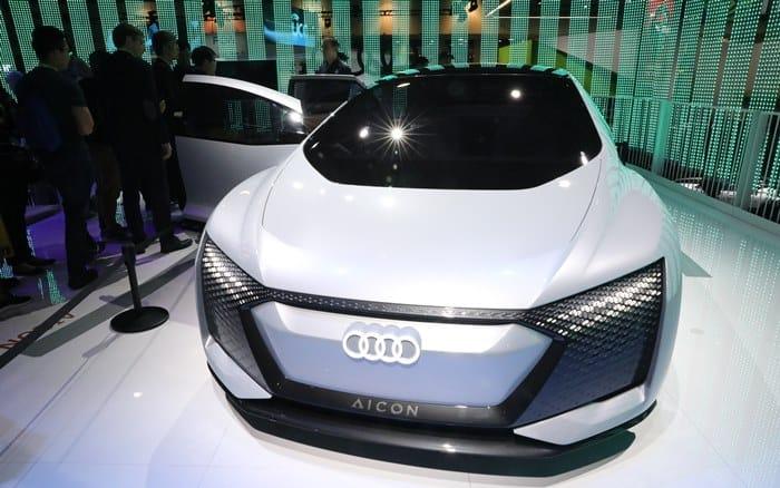 CES '아우디 순수전기차 Aicon' 콘셉트 차량 ⓒ 갓잇코리아
