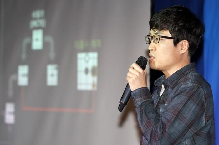 NHN엔터테인먼트에서 열린 프로기사 TOP vs 한돌 빅매치 ⓒ 갓잇코리아