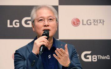 권봉석 LG전자 MC사업본부장 - 취임 후 첫 기자간담회 © 갓잇코리아