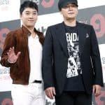 빅뱅 승리, 양현석 대표(오른쪽)© 갓잇코리아
