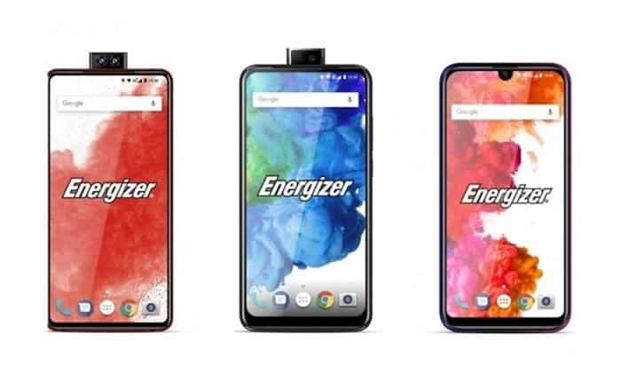 에너자이저가 듀얼팝업카메라폰, 물방울 노치폰 등을 포함한 26종의 최신폰을 MWC2019에서 선보일 예정(에너자이저 제공) ⓒ 갓잇코리아