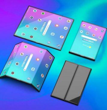 해외 IT매체 레츠고 디지털이 공개한 샤오미 폴더블폰 3D 렌더링