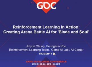[엔씨소프트] GDC 3월19일 세션_강화학습을 이용한 프로게이머 수준의 블레이드앤소울(B&S) 비무 AI 개발(엔씨소프트 제공)