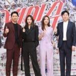배우 주진모(왼쪽부터), 한예슬, 신소율, 김희원/ © 갓잇코리아