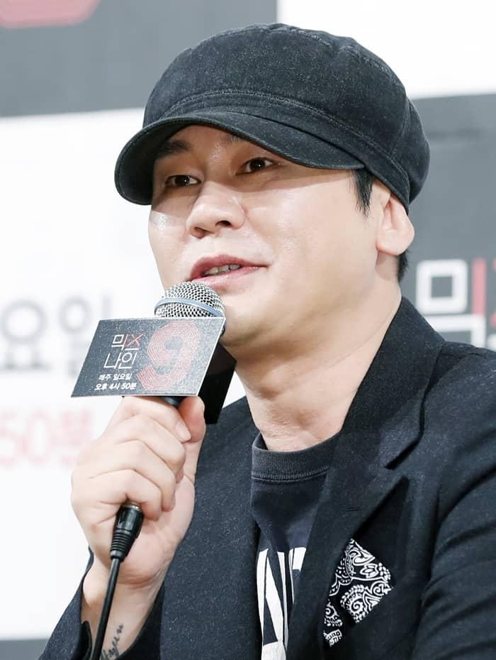 양현석 YG 대표 © 갓잇코리아
