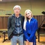 티파니영 '배캠' 출연 기념 배철수와 인증샷 ⓒ 갓잇코리아