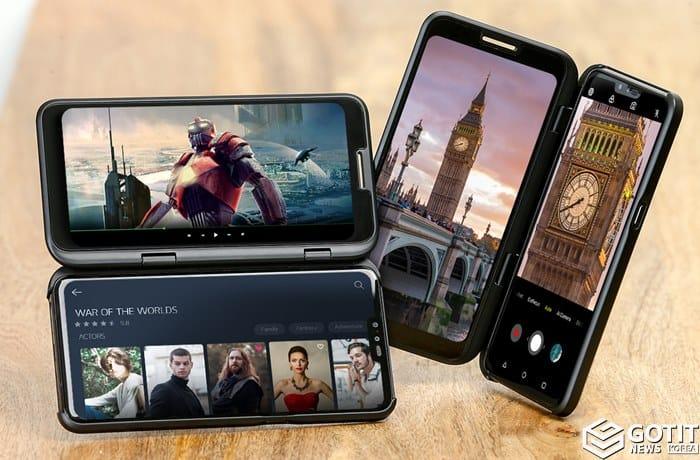 출시 앞둔 LG 첫 5G 스마트폰 V50 ThinQ ⓒ 갓잇코리아