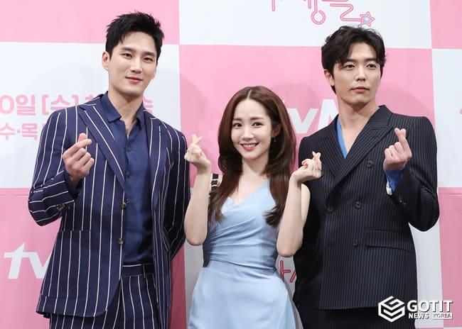 안보현-박민영-김재욱, 덕질 로맨스 기대하세요 ⓒ 갓잇코리아