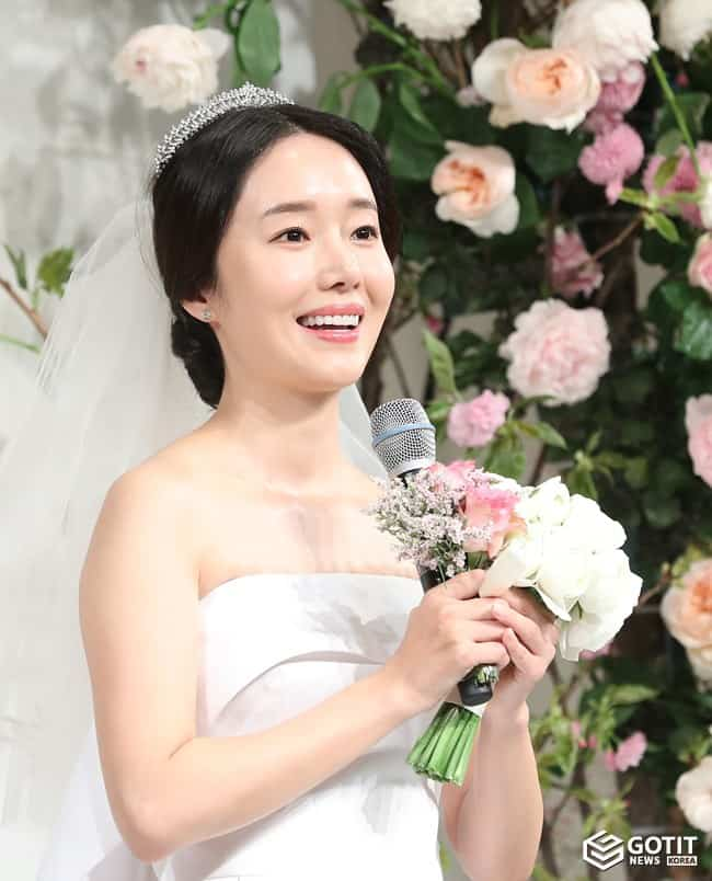 이정현, 저 오늘(7일) 결혼해요~ ⓒ 갓잇코리아