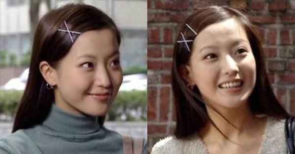 90년대 김희선이 꽂았던 X자 실핀 ⓒ