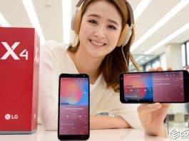 LG 베스트샵에서 실속형 스마트폰 LG X4를 소개하고 있다. (LG전자 제공) 2019.4.21 / 갓잇코리아