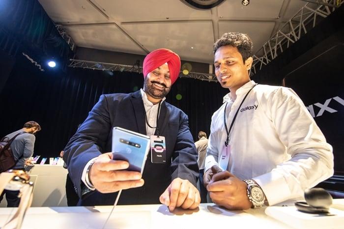 다운로드 인도 뉴델리에서 열린 삼성전자 '갤럭시 S10' 출시 행사 ⓒ 갓잇코리아