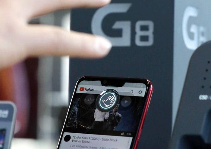 LG전자가 지난 3월 출시한 전략 스마트폰 'G8 씽큐(ThinQ) ⓒ