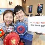 KT는 5G 가입자 모집 한달만에 10만명을 돌파했다 ⓒ 갓잇코리아