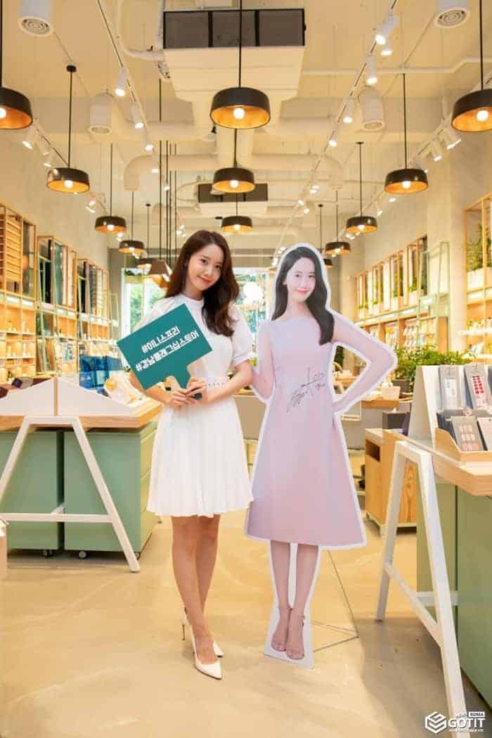 소녀시대 윤아, 실물 미모 갑 ⓒ 갓잇코리아 / 사진제공 - 이니스프리