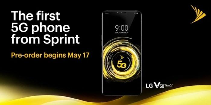 북미 시장 공략 나선  LG V50 ThinQ ⓒ 갓잇코리아