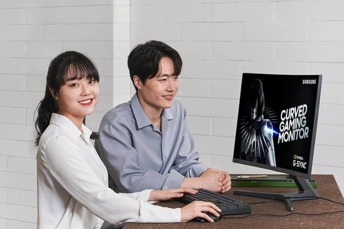 삼성전자, 커브드 게이밍 모니터 'CRG5 27형' 공개 ⓒ 갓잇코리아