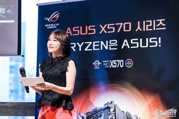 ASUS, X570 메인보드 론칭 행사 ⓒ 갓잇코리아