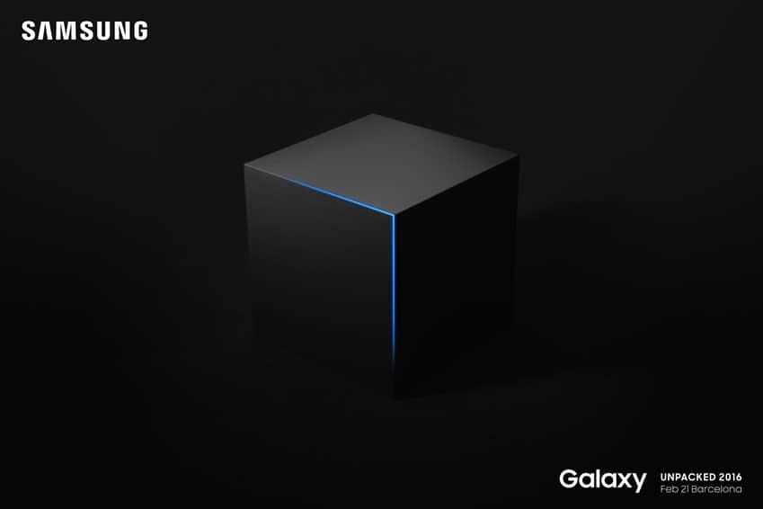 '삼성 언팩 2016' 갤럭시 S7 초대장