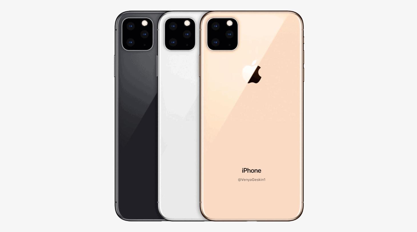 아이폰11 예상 렌더링 ⓒ 폰 아레나 / 갓잇코리아