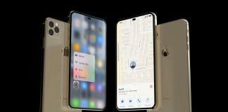 2020년 출시될 것으로 예측되는 아이폰의 렌더링 (유튜브 EverythingApplePro 갈무리) © 갓잇코리아