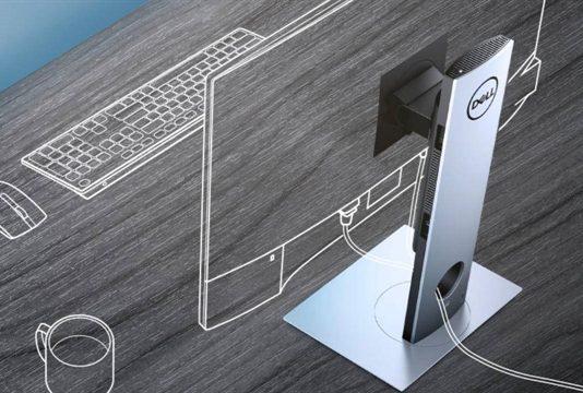 모듈 형태로 업그레이드! 모니터 스탠드와 결합한 미니PC '델 옵티플렉스 7070 울트라' ⓒ 갓잇코리아