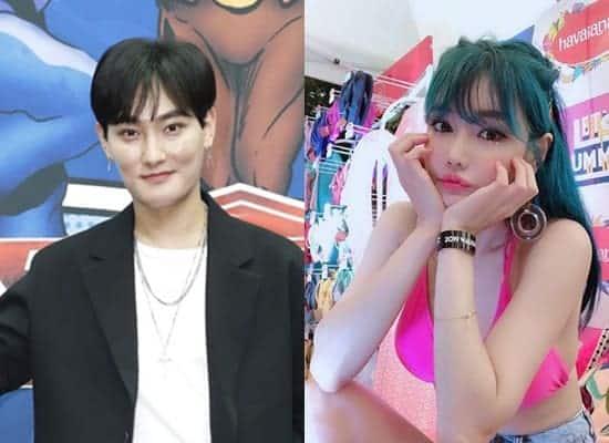 강타(왼쪽), 한가은(출처 본인 SNS) © 갓잇코리아