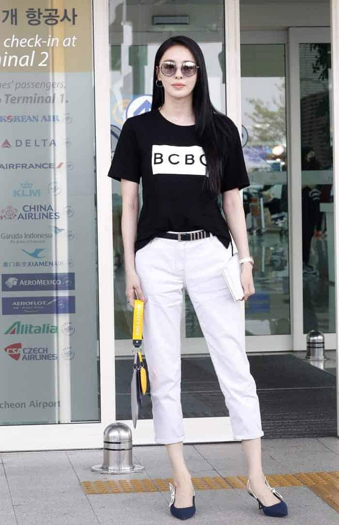 공항에서도 미모 뿜뿜. 패셔니스타 이다희 공항패션은? ⓒ 갓잇코리아
