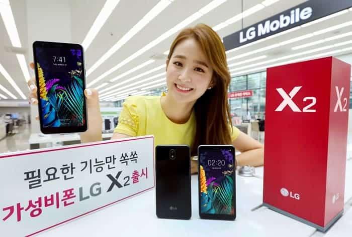 LG, 실속형 스마트폰 'LG X2' 출격...저가형 시장도 공략 가능할까? ⓒ 갓잇코리아