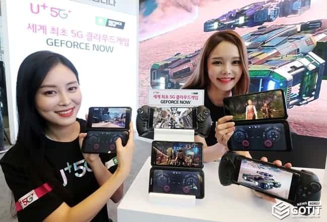 '150 여종의 고사양 게임 5G 스마트폰으로 즐겨요' ⓒ 갓잇코리아