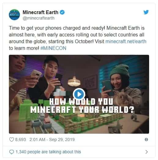 마인크래프트 어스 트위터 ⓒ