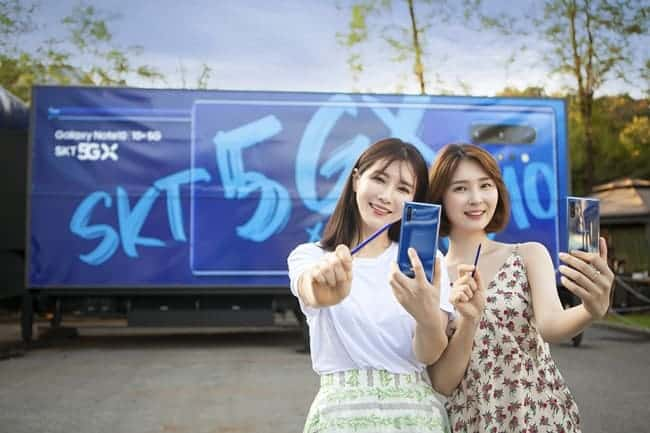 SK텔레콤, 5G 독주 시작되나 ⓒ 갓잇코리아