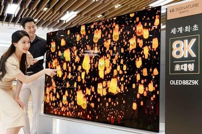 LG전자가 올해 국내에서 출시한 'LG 시그니처 OLED TV' (LG전자 제공) ⓒ 갓잇코리아