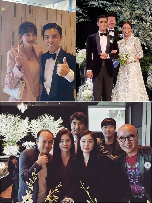 강남 이상화 결혼식/태진아, 유인영, 홍석천 인스타그램 © 갓잇코리아