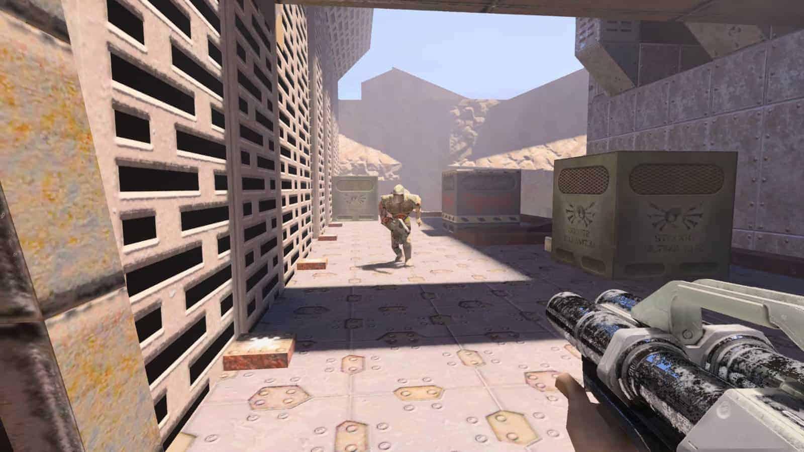 리마스터된 'Quake II' ⓒ  갓잇코리아