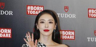 '튜더' 대전 매장 축하하는 이다희 ⓒ 갓잇코리아