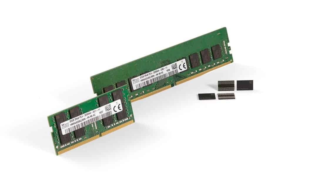 SK하이닉스 세대 10나노급 DDR4 D램 개발 ⓒ 갓잇코리아