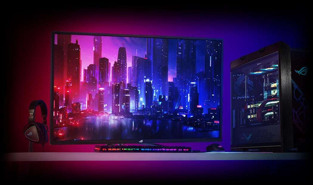 FreeSync2 HDR 기술과 120Hz의 초고속 주사율로 부드러운 화면 구현 ⓒ 에이수스 사진제공