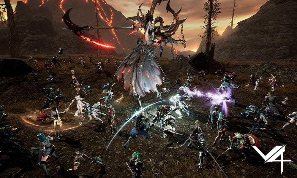 넥슨의 모바일 다중접속역할수행게임(MMORPG) 'V4'의 PC 버전이 12월 출시된다. © 갓잇코리아